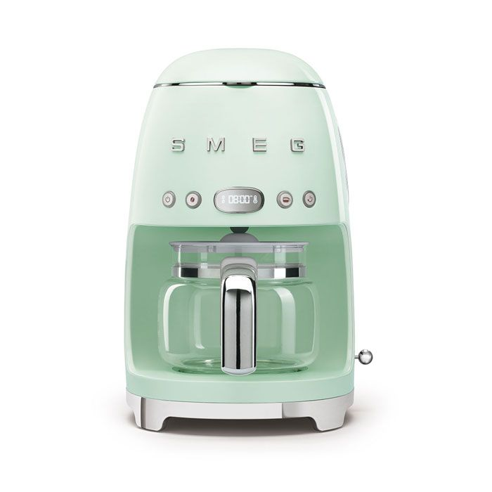 Smeg Retro Pastel Green Drip Filter Coffee Machine