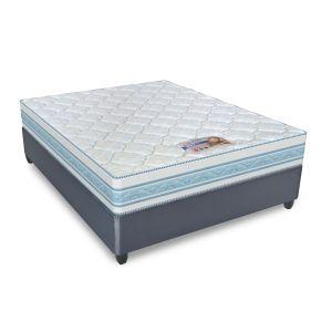 Cloud Nine 152cm Body Flex Mattress + FREE 152cm Strandmattress Premium Base
