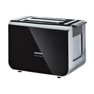 Siemens Toaster Black Stainless Steel - TT86103