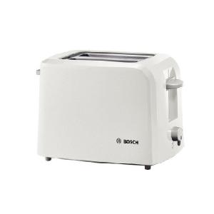 Bosch 2 Slice White Toaster - TAT3A011