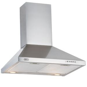 Defy 60cm Stainless Steel Chimney Extractor - CHW6215S