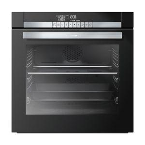 Grundig 60cm Black Divide & Cook Oven - GEZST4700B