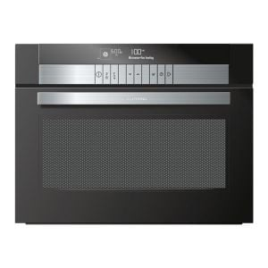 Grundig 60cm Black Electronic Multifuntion Oven with Microwave - GEKW47000B