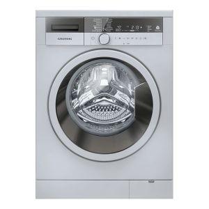 Grundig 8kg Silver Washing Machine - GWN48430SC