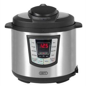 Defy 6L Silver Pressure Cooker - PC600S