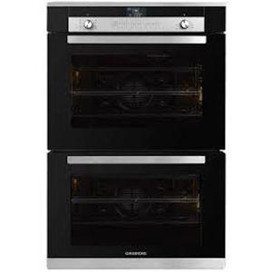 Grundig 70cm Multi Function Double Oven - GEDM26000B