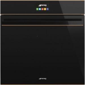 Smeg Dolce Novo Copper Trim Pryolytic Oven - SFP6604NRE