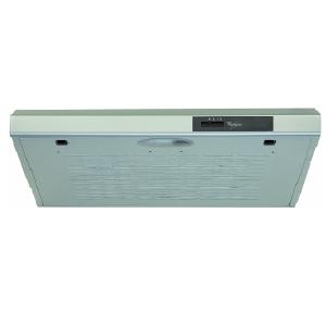 Whirlpool 60cm Grey Cookerhood - WSLT65FASX