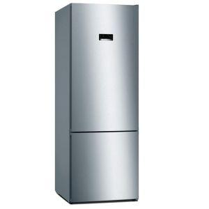 Bosch 505L Silver Combi Fridge - KGN56VI30U