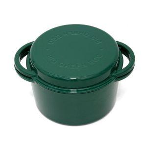 Big Green Egg Dutch Oven -Round Enamel  4L - 117045