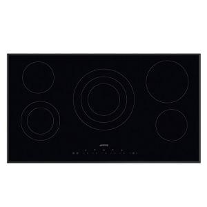 Smeg 90cm Ceramic Black Glass Hob - SE395ETB