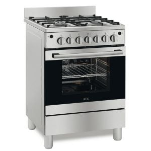 AEG 60cm Stainless steel Full Gas Stove - 10306GM-MN
