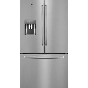 AEG 536L Silver French Door Fridge with Manual Water Dispenser - RMB76312NX