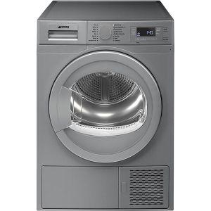 Smeg 8kg Silver Heat Pump Dryer  - DHTS81LSA