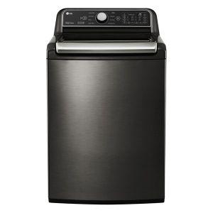 LG 24kg Black Stainless Steel Top Loaded Washing Machine - T2472EFHSTL