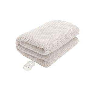 Pure Pleasure 91cm Coral Fleece Fitted Electric Blanket - ZEPP91188CF