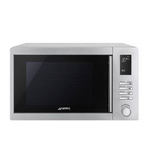 Smeg 25L Silver Microwave - MOE25X