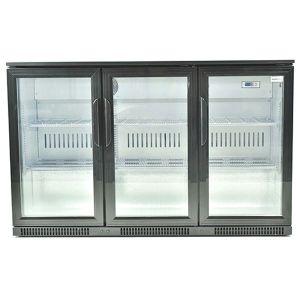 Snomaster Under Counter Beverage Cooler (Black) - SD300