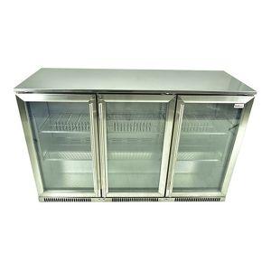 Snomaster Under Counter 3 door Beverage Cooler - SD300SS
