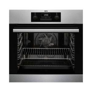 AEG 60cm Silver Built-In Oven - BEB231010M