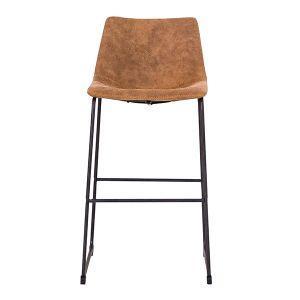 Scoop Cowboy Brown Bar stool - HY-7163-3