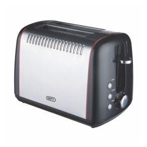 Defy 2 Slice Stainless Steel Toaster - TA828S