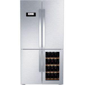 Grundig 519L Stainless Steel 4 Door Wine Cooler - GWN21210X