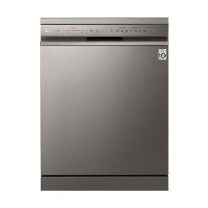 LG 14Pl Platinum Silver QuadWash™ Steam Dishwasher - DFB425FP