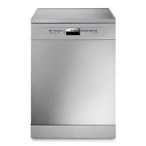 Smeg 13Pl Silver Dishwasher - DW6QSSA-1