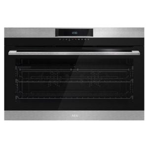 AEG 90cm Eye Level Oven - BEK722910