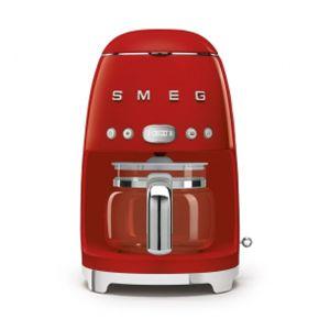 Smeg Red Retro Drip Filter Coffee Machine - DCF02RDSA
