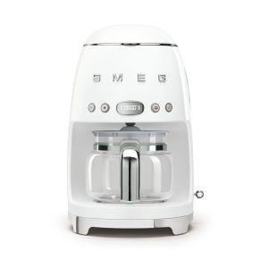 Smeg Retro White Drip Filter Coffee Machine - DCF02WHEU