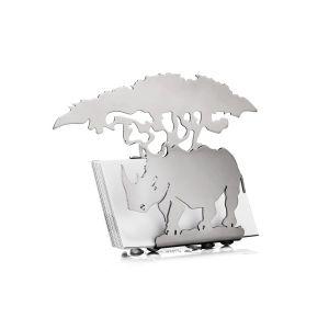 Carrol Boyes Business Card Holder - rhino - 3BUC-RHI