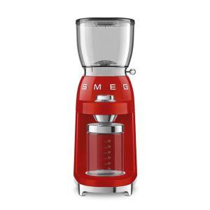 Smeg Red Retro Coffee Grinder - CGF01RDEU