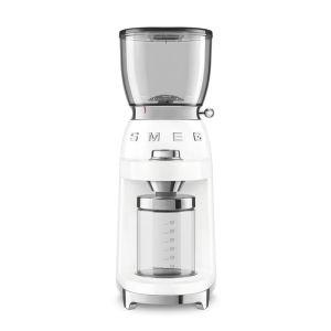 Smeg white Retro Coffee Grinder - CGF01WHEU