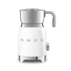 Smeg White Retro Milk Frother - MFF01WHEU