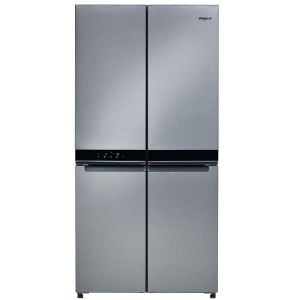 Whirlpool 591Lt 4 door Inox Fridge - WQ9B1LM