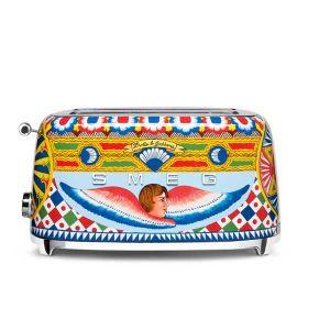 Smeg Dolce & Gabbana 4 slice Toaster - TSF02DGEU