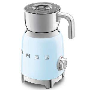Smeg Retro Milk Frother Blue - MFF01PBEU
