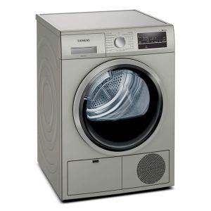 Siemens 8kg Silver Condenser Dryer - WT46G40SZA