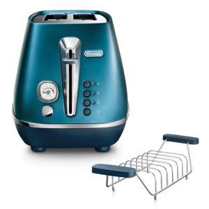 Delonghi Distinta Flair 2 Slice Toaster (Prestige Blue) - CTI2103.BL