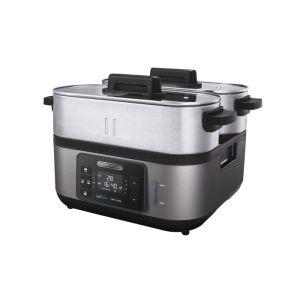 Morphy Richards Black Stainless Steel Digital Food Steamer - 470006