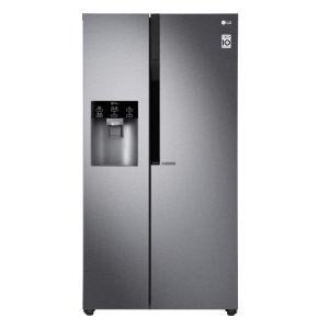 LG 601Lt Side by Side Refrigerator - GC-L247KQDV
