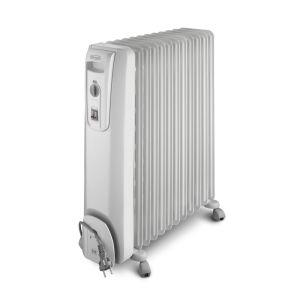 Delonghi 12 Fin White Oil Heater - KH771225