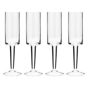 Carrol Boyes Champagne Flute Set of 4 - Ascend - 0G-CFL-ASC-4