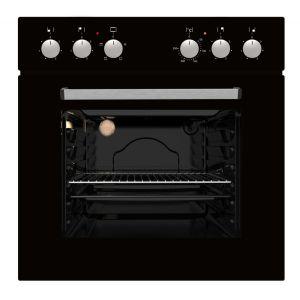 Falco 60cm Black Oven and Solid Hob Set - CM6401/XFS6040