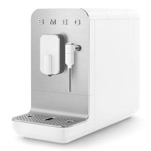 Smeg Bean To Cup Coffee Machine Matt White - BCC02WHMSA