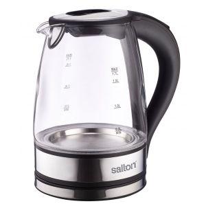 Salton 1.7L Cordless Glass Kettle - SCGK80E