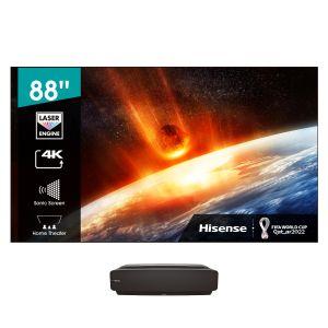 "Hisense 203cm (80"") Laser TV- HE80LS + FREE Soundbar with Wireless sub(71418)"