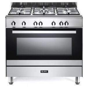 ELBA 90cm Stainless Steel Gas Stove - 01/9CX828N